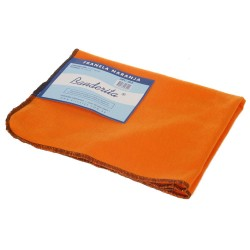Paño Franela Naranja Banderita