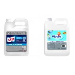 Desodorante para Pisos Flash Frag. Pino x 5 lts.