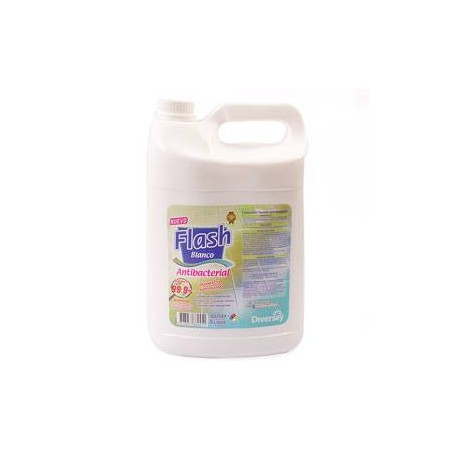 Flash Blanca Antibacterial x 5 lt.