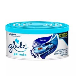Desodorante de Ambiente Glade Auto Gel Acqua x 70 gr.