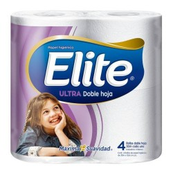Papel Higienico Elite Ultra Doble Hoja 4 x 30 mts.