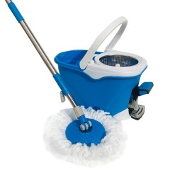 Balde con Escurridor Centrifugo con Pedal Magic Mop